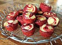 grain free red velvet swirls recipe