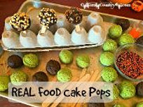 grain free cake pops recipe