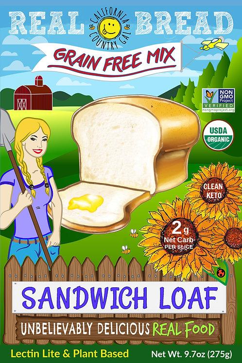 Organic Sandwich Loaf