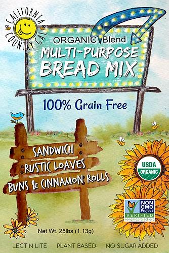 Organic Bread Mix 25lb Box
