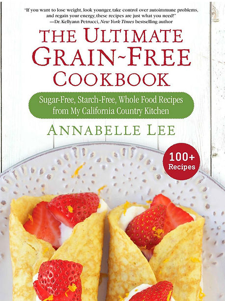 cookbook cover for Annabelle Lee - Califonia Country Gal