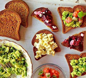 grain free toasts by Annabelle Lee