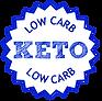 low carb badge