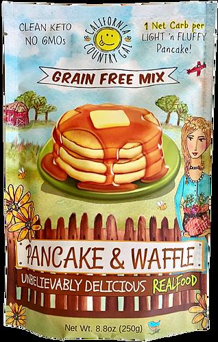 Pancake/Waffle NOW 33% More