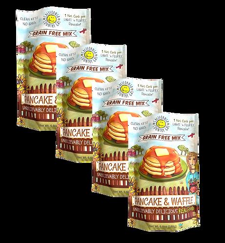 NEW 4 Pack Pancake/Waffle