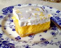 semi raw lemon meringue bars recipe