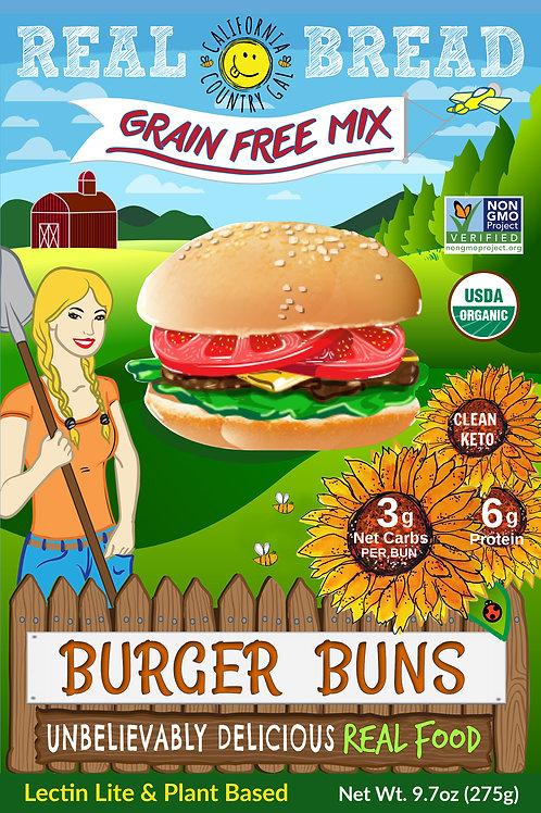 Organic Burger Bun Mix