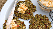 VEGGIE SEED CRACKERS
