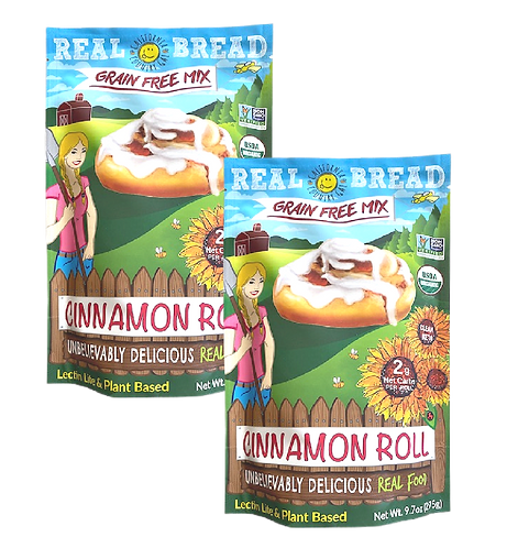 Organic Mix 2pk Cinnamon Roll