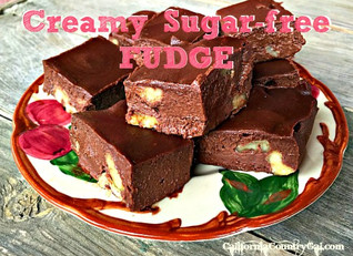 Easy Sugar-free Fudge
