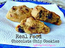 grain free real chocolate chip cookies recipe