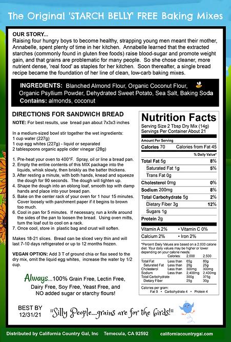 Sandwich Loaf Mix Back Pkg 7-6-20.png