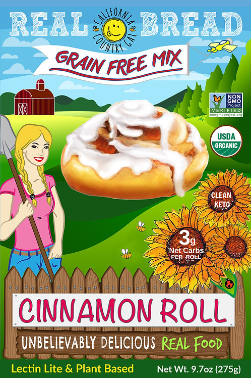 Organic Cinnamon Roll