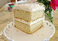 grain free coconut cake recipe