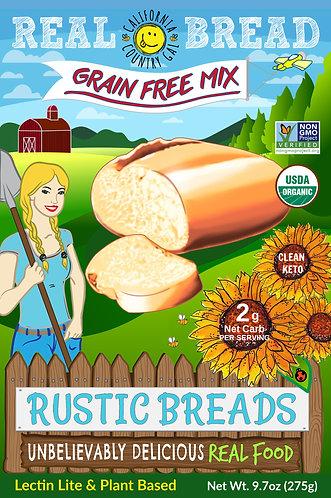 Organic Mix Rustic Breads