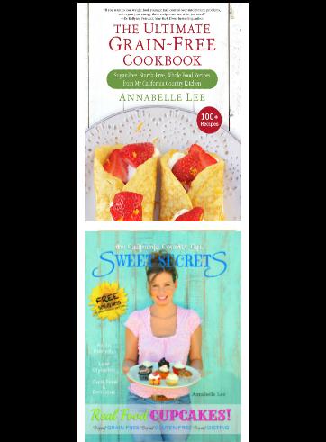 2 Signed Cookbooks