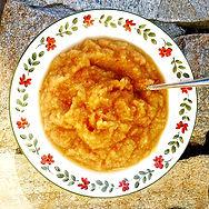 Homemade Applesauce from Annabelle Lee's grain free cookbook