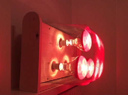 Near Infrared 3 Lamp Heating Unit with Stand