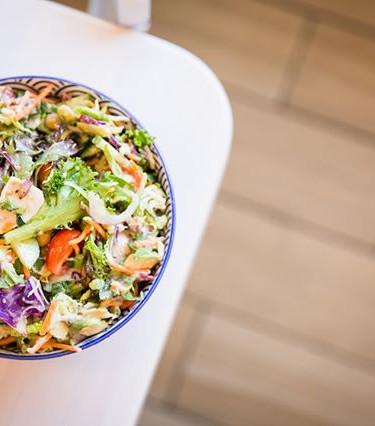 Une salade aussi bonne au goût, qu'elle