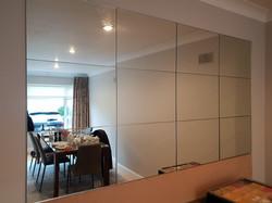 Silver mirror Collage