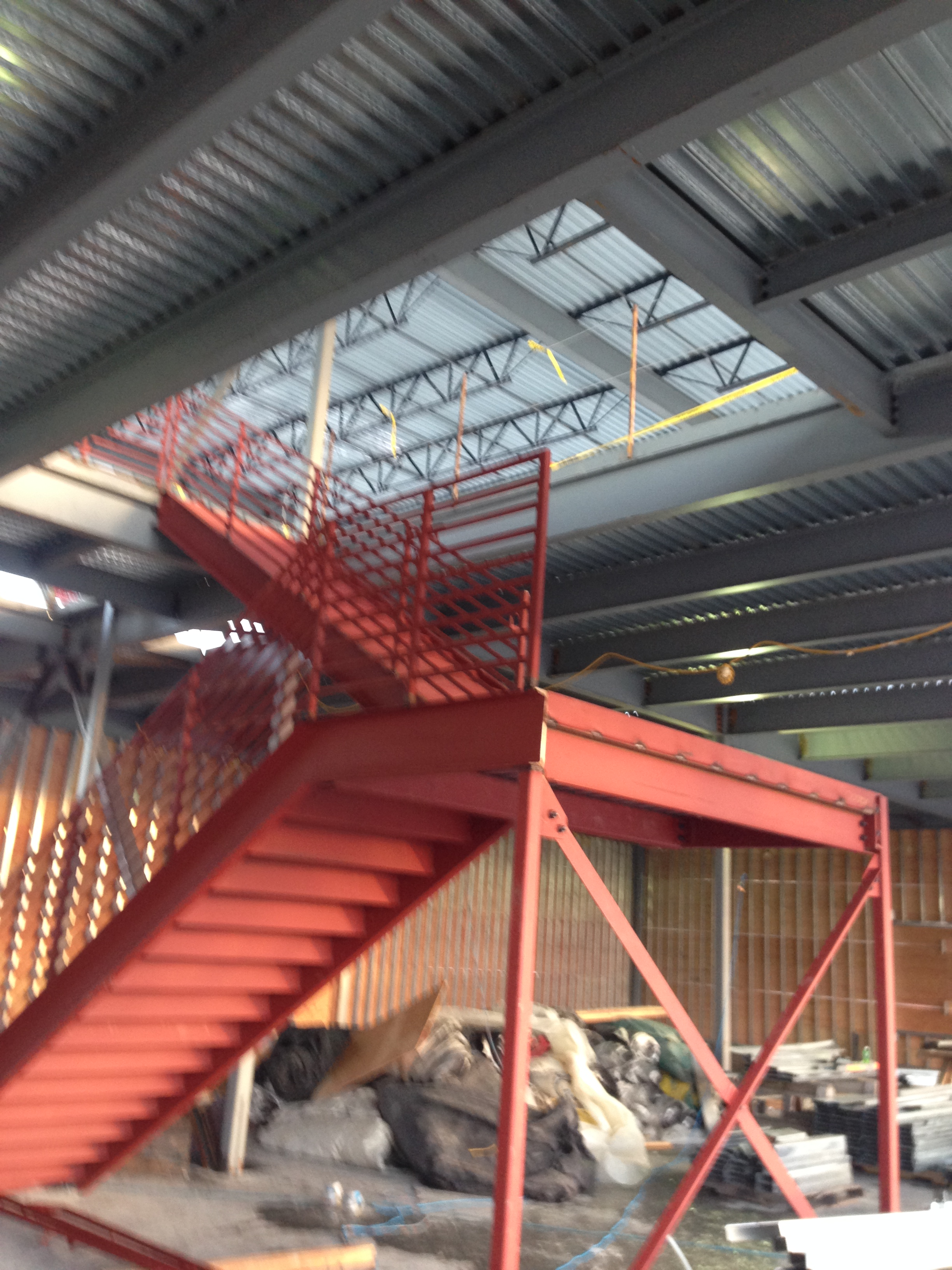 Steel Stair Case