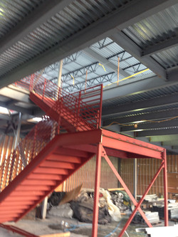 Steel Stair Case