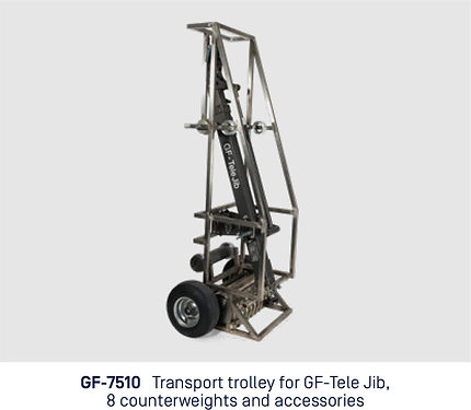 Jibs. Tele Jib. Transport Trolley pic 01