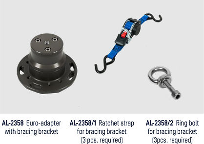 Accessories. BAzookas. Bracing Options.j