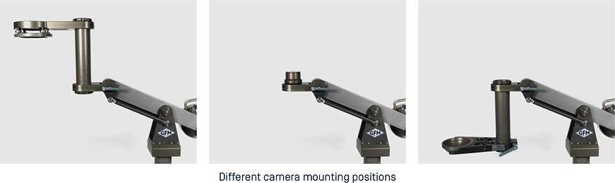 Jibs. Baby Jib. Camera Mounting Options