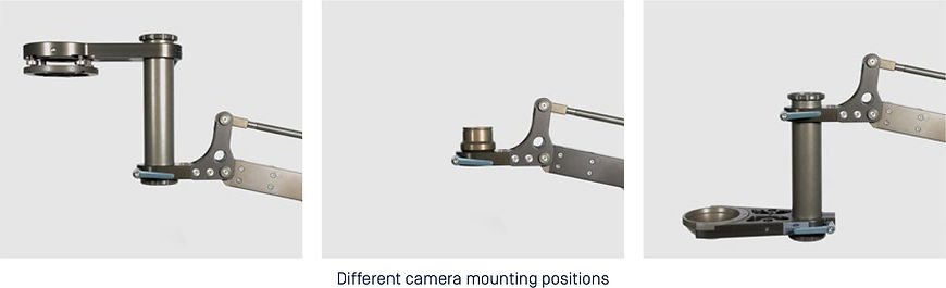Jibs. Tele Jib. Camera Mounting Options
