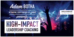 HIGH-IMPACT LEADERSHIP COACHING Masthead