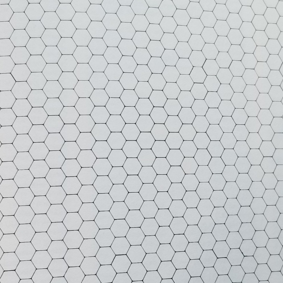 A field of hexagonal lines