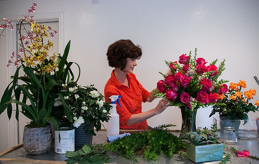 Melody Dockery is lead designer at Mad About Flowers Dallas.