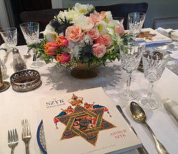 Mad About Flowers provides flowers for passover seder as well.