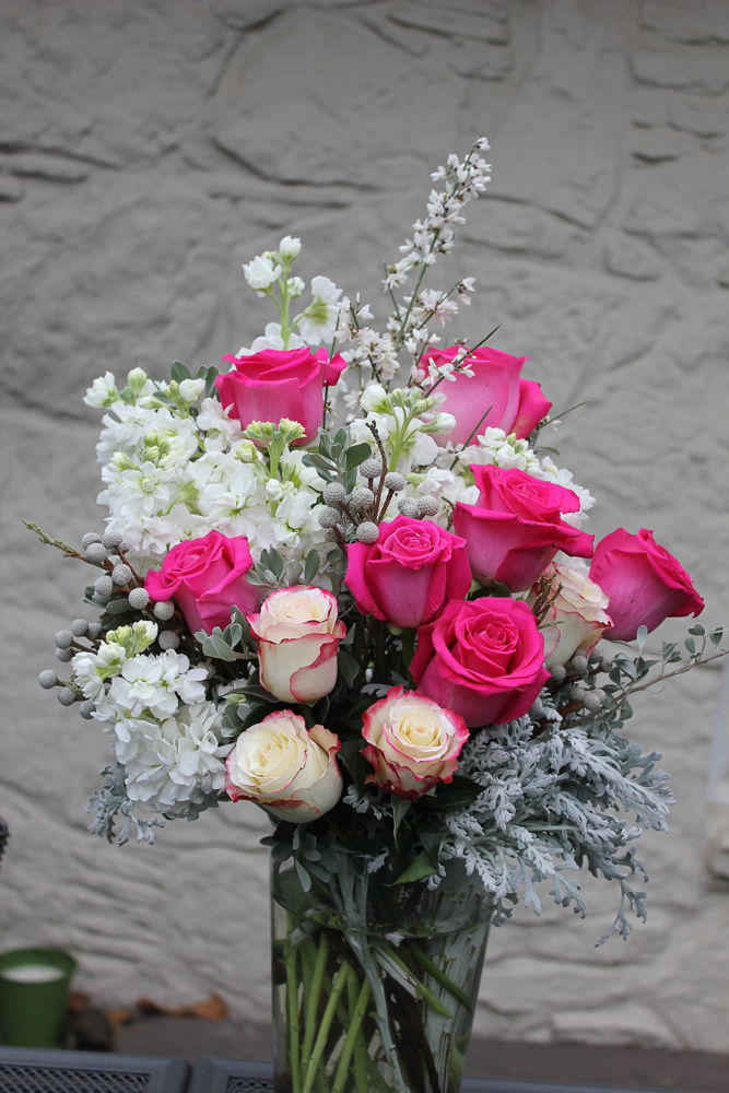 Roses with Texture