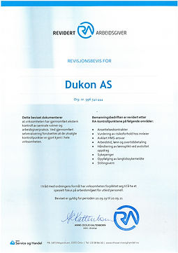 RA-sertifikat Dukon AS 2019 signert.jpg