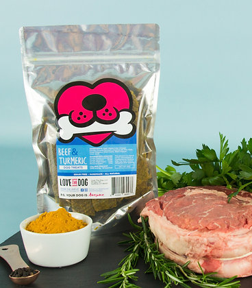 Beef & Turmeric Treats