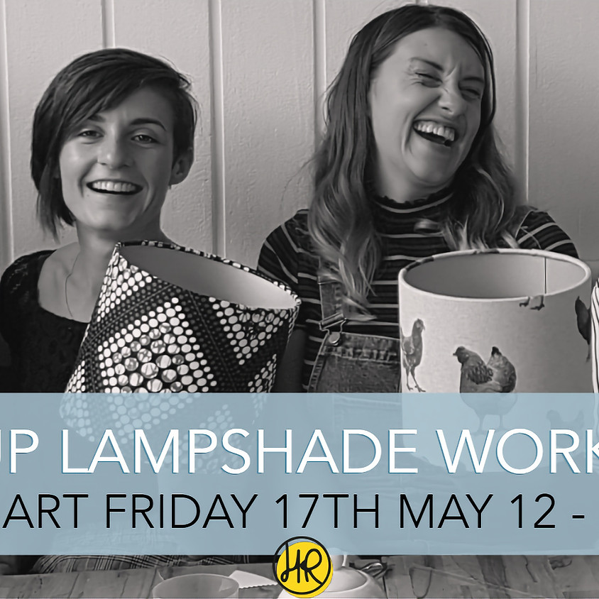 POP UP Lampshade Workshop