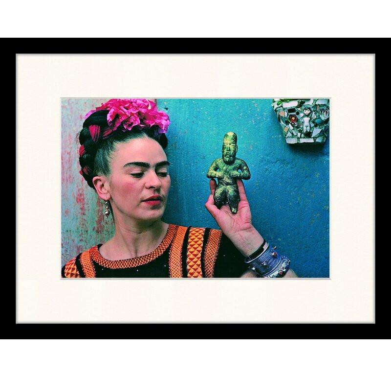 Frida kahlo by the lens of Nickolas Muray from Wayfair.co.uk