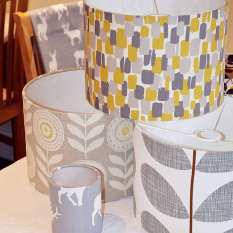 Creations from a Lampshade Workshop