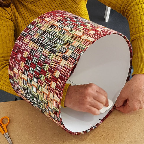 Medium 30cm Drum Lampshade Kit