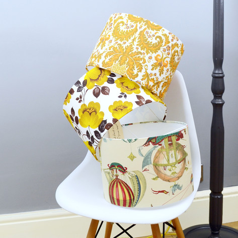 ETSY Collection of Handmade Bespoke Lampshade 30cm by Hannah Redden