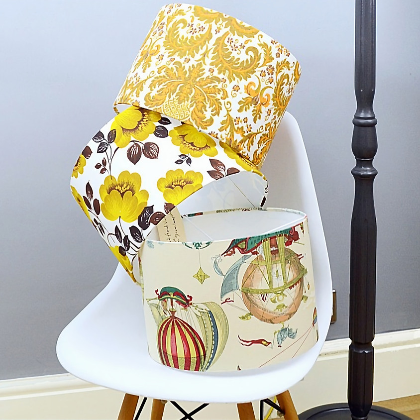 ** SOLD OUT** LARGE & EXTRA LARGE Lampshade Workshop (1)