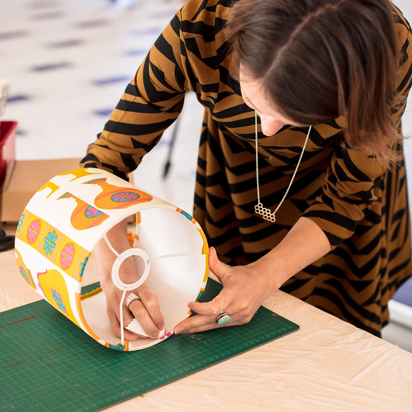 Small Drum Lampshade Workshop