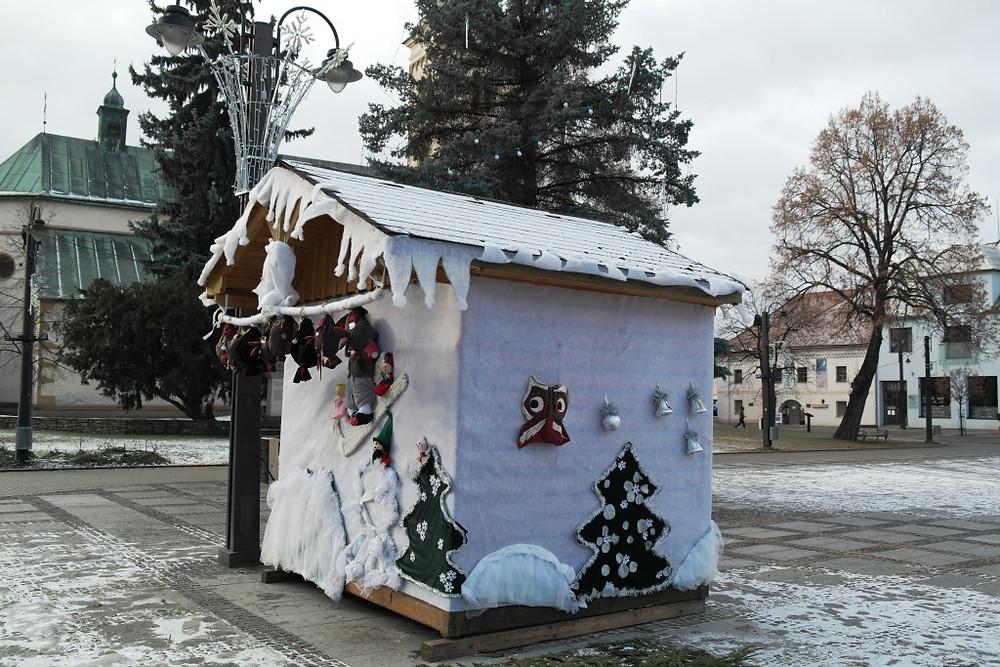 vianočná búdka