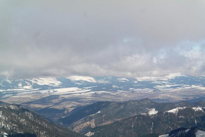 Zamrznutá Rovná hoľa