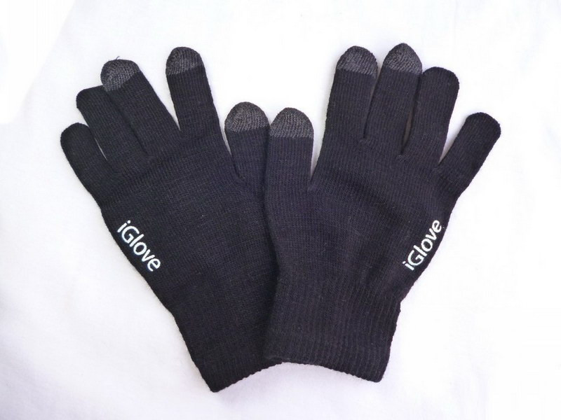 smartfón rukavice