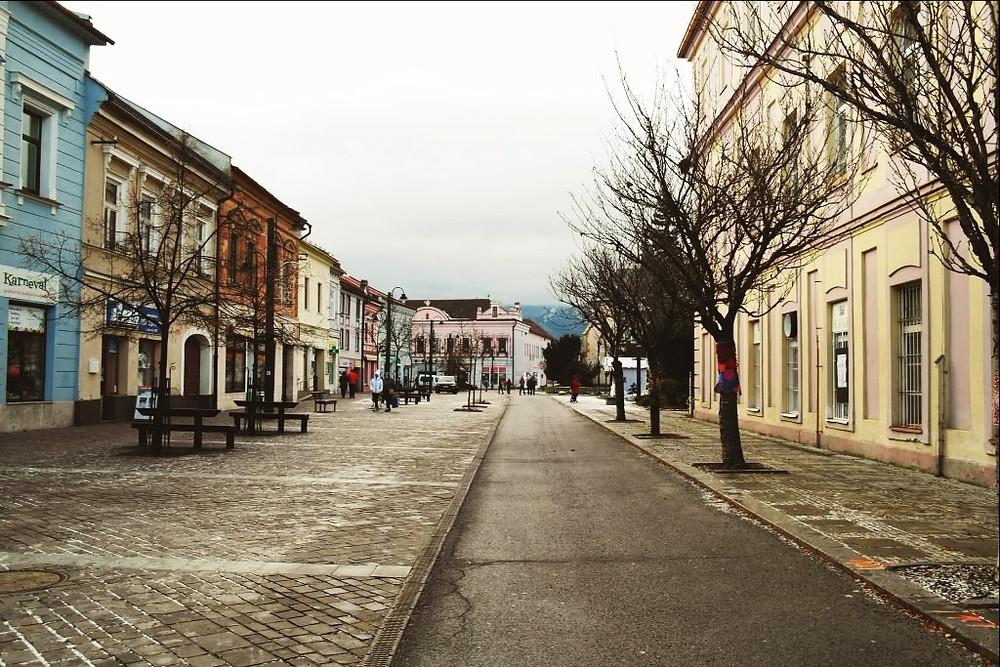 Liptovský Mikuláš - centrum