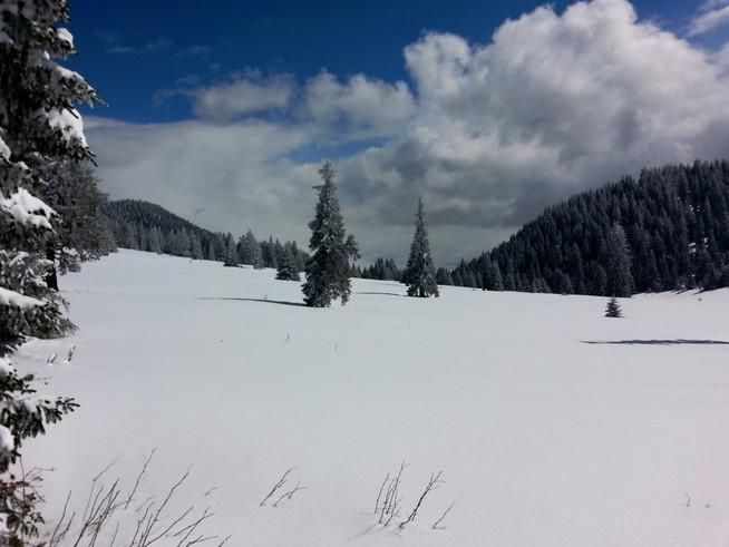 Zimný výstup na Choč