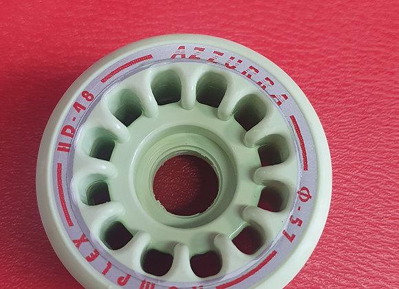 SET 8 RUOTE AZZURRA HD 48 DIAMETRO 57